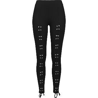 Urban classics Naisten leggingsit terästetty edessä