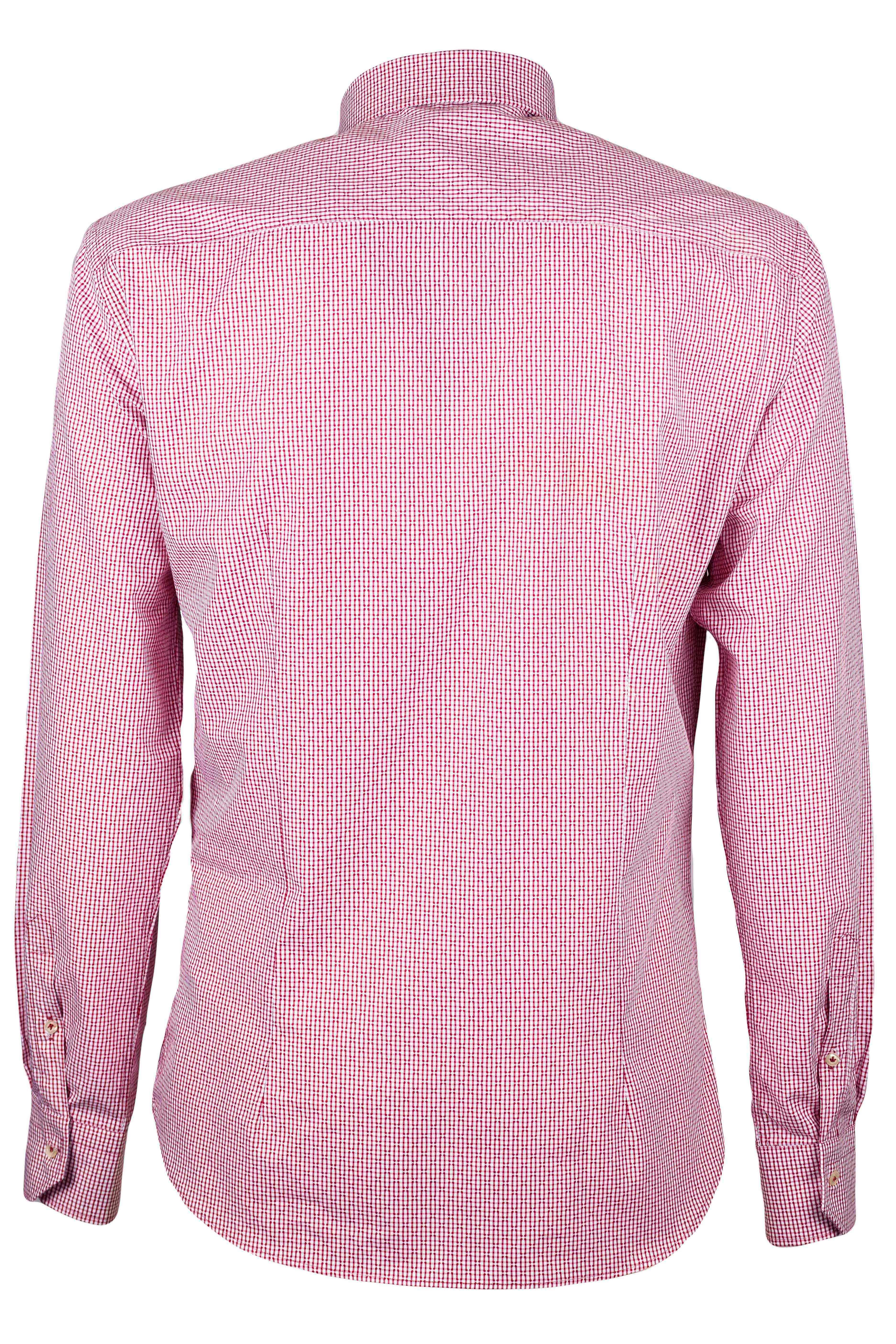 Fabio Giovanni Ginosa Shirt - Mens Italian Casual Stylish Shirt 100% Cotton - Long Sleeve