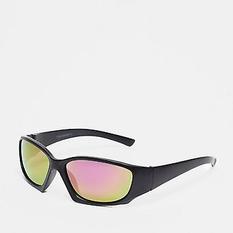 New Peter Storm Boy's Rounded Wrap-Around Sunglasses Black