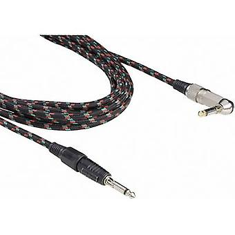 Paccs Retro Instruments Cable [1x Jack plug 6.35 mm - 1x Jack plug 6.35 mm] 6.00 m Multi-colour