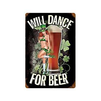 Tanssi oluen ruostunut teräksen merkki 460 X 300 Mm