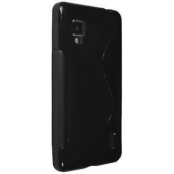 Technocel Slider Skin with Ying Yang Pattern for LG LS971 - Black