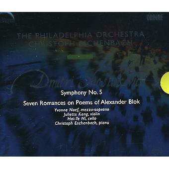 D. Shostakovich - Shostakovich: Symphony No. 5; Seven Romances on Poems of Alexander Blok [SACD] USA import