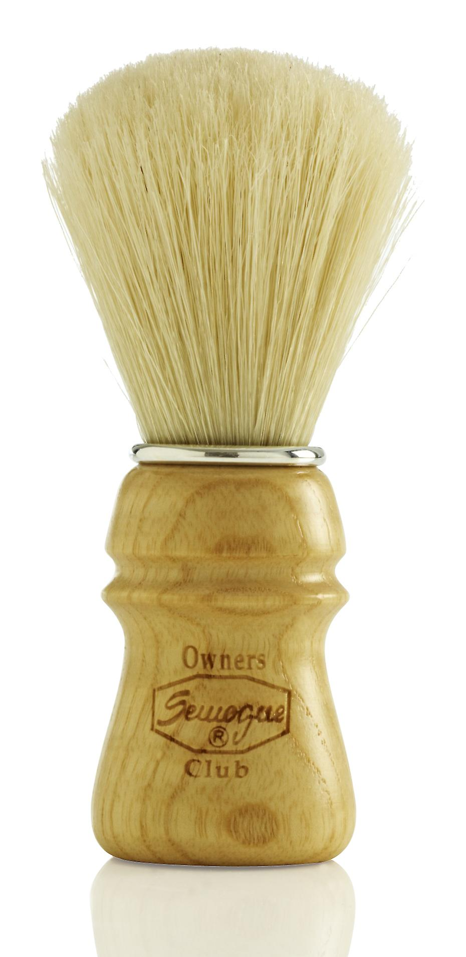 Semogue Owners Club (SOC) Pure Bristle Shaving Brush - Ash