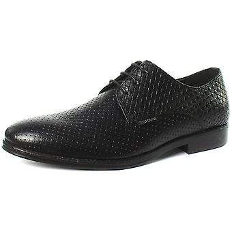 Red Tape MGS08886 Black Mens Lace Up Derby Shoes