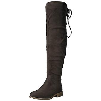 Journee Collection Womens Mount Closed Toe Over Knee Fashion Boots