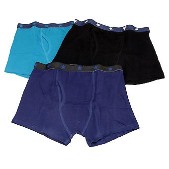 Kids By Tom Franks Boys Trunks With Keyhole (Pack Of 3)