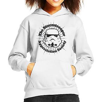 Original Stormtrooper Appreciation Society Kid's Hooded Sweatshirt
