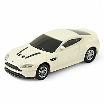 Aston Martin Vantage V12 Car USB Memory Stick 4Gb - White