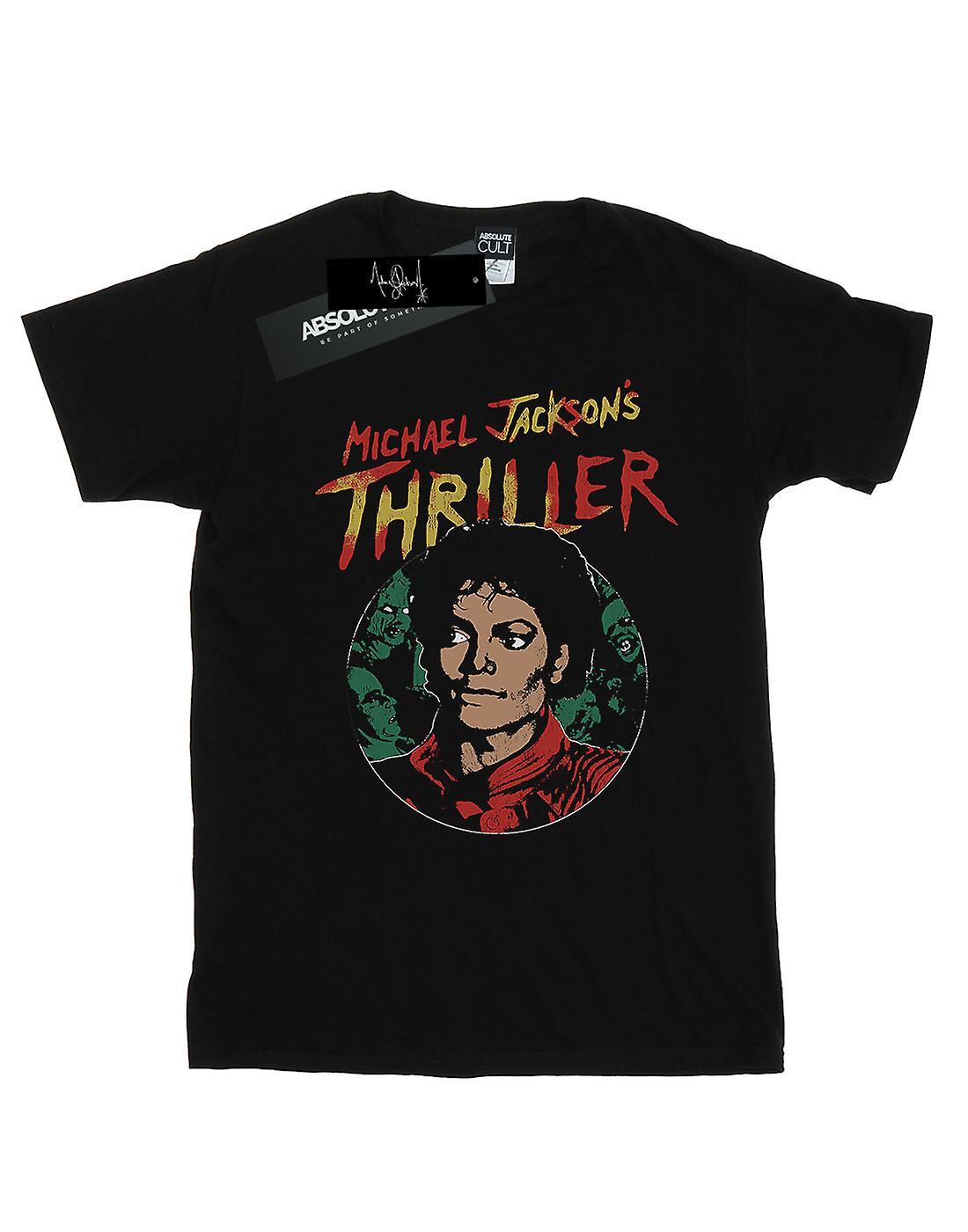 Michael Jackson Men's Collage Zombies T-Shirt