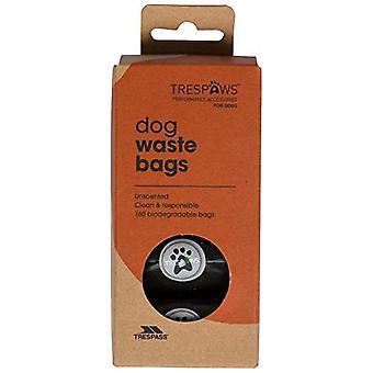 Traspaso Pebble Dash perro relleno basura bolsas de plástico (paquete de 160)