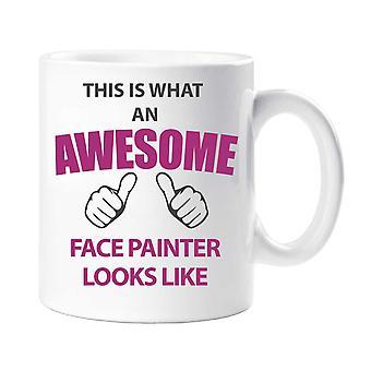 Awesome Face Painter Mug