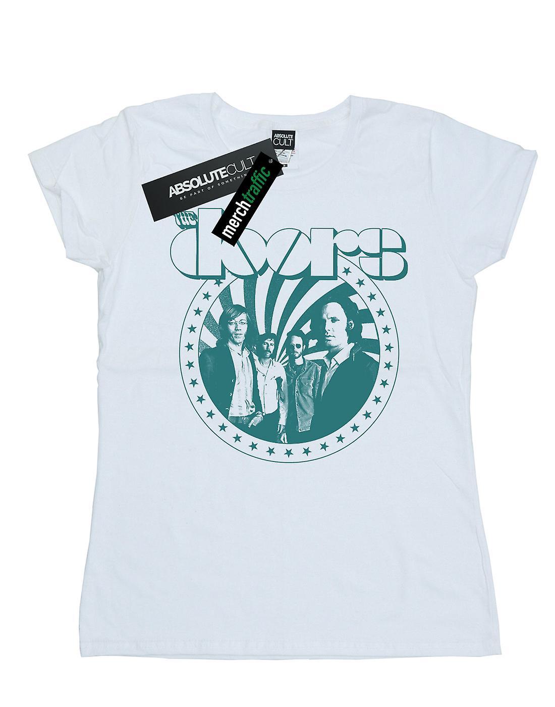 The Doors Women's Stars Spiral T-Shirt