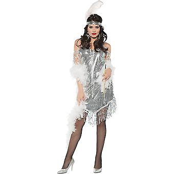 Swingin Silver Costume For Women