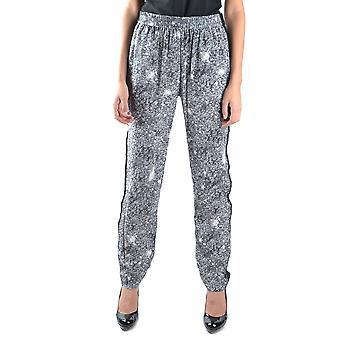 Marc Par Marc Jacobs Ezbc062002 Pantalons en soie grise pour femmes