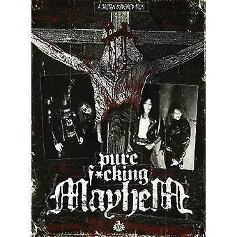 Mayhem - Pure Fucking Mayhem [DVD] USA import