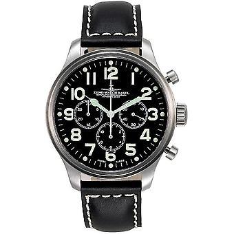 Zeno-Watch Miesten Watch OS Pilot Chronograph 2020 8559TH-3-a1
