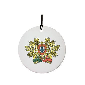 Herb Portugalii samochodowa zawieszka zapachowa