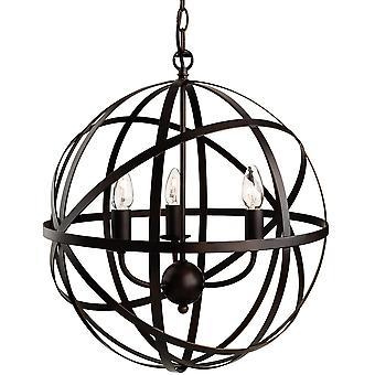 Firstlight - 3 Light Ceiling Pendant Antique Brown - 3437ABN