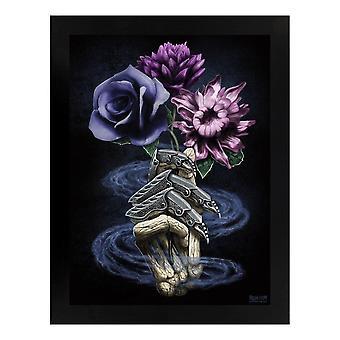 Requiem Collective Death`s Bouquet Wooden Framed Print