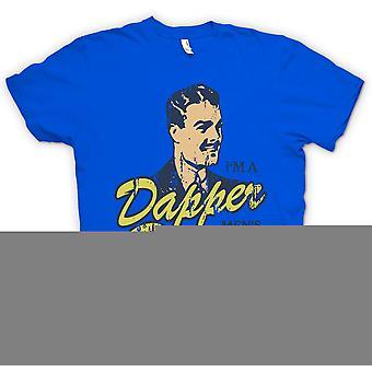 Мужская футболка - Dapper Dan - Im A Мужская помадных человек - фильм вдохновил