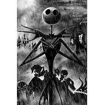Nightmare Before Christmas Storm Poster