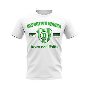 Deportivo Wanka Established Football T-Shirt (White)