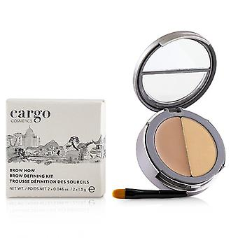 Cargo Double Agent Concealing Balm Kit - # 5N 2.7g/0.095oz