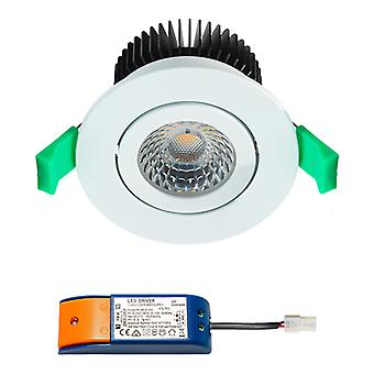CREE LED recessed Spotlight | Branco morno | 9 watts | dimmable | Inclinação