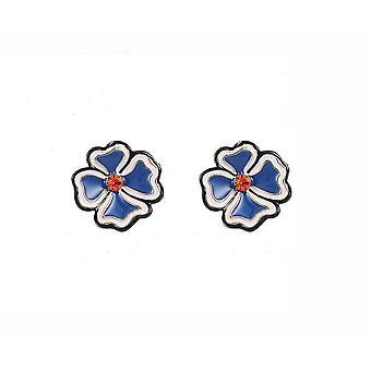 Fable Womens/Ladies Floral Stud Earrings (1 Pair)