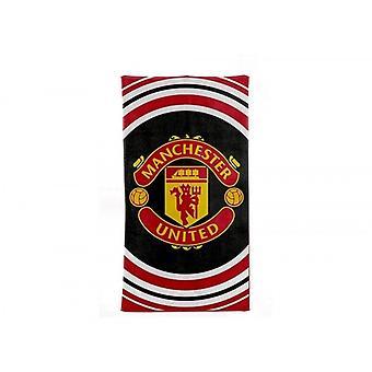 曼联足球俱乐部官方脉冲设计毛巾