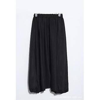 Loose Draped Ankle-length Harem Pants