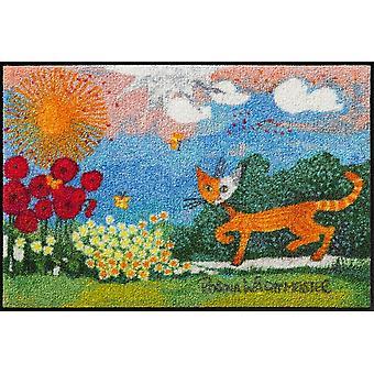Rosina Wachtmeister deurmat van madeliefjes 50 x 75 cm, SLD0873-050 x 075