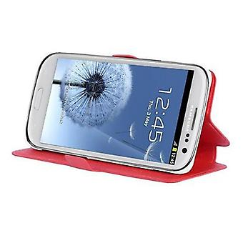 Cadorabo Case for Galaxy S3 / S3 NEO Case Cover - Phone Case with Stand Function and Card Compartment in Ultra Slim Design - Case Cover Case Case Case Case Book