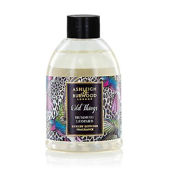 Ashleigh & Burwood Wild Things Reed Diffuser Refill Bottle 200ml Home Fragrance Humming Leopard