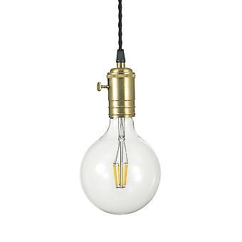 Ideale Lux Doc 1 Licht Anhänger Licht Messing IDL163154