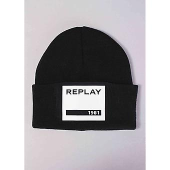 Replay Square Logo Hat
