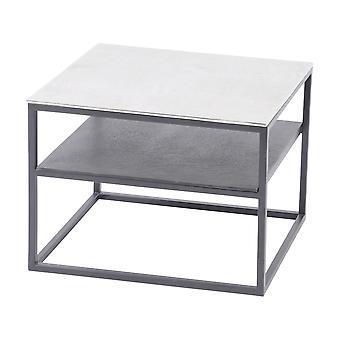 Waage Möbel Aluminium und Eisen Beistelltisch