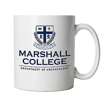 Marshall College Indiana Jones Movie Inspired, Mug - Gift for Him Her