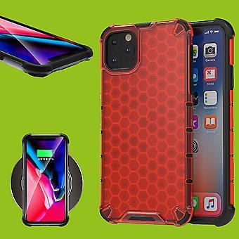 Para apple iPhone 11 Pro 5,8 Polegadas Silicone Case Shock Híbrido TPU Proteção Red Case Case Cover Acessórios Caso Novo