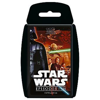 Top Trumps - Star Wars Episoden 1-3