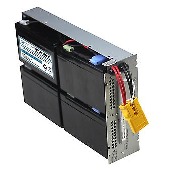 Utskifting UPS batteri kompatibel med APC SLA133