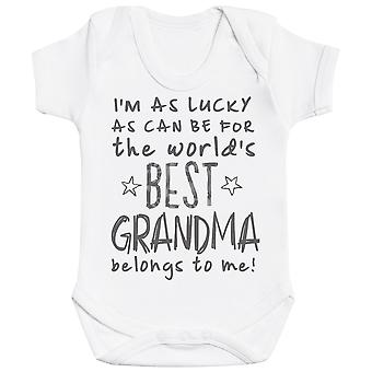 I'm As Lucky As Can Be Best Grandma belongs to me! Baby Bodysuit