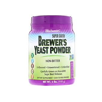 Super Earth Brewer's Yeast Unflavored (908 g) - Bluebonnet Nutrition