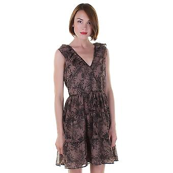 Darling vrouwen ' s Elizabeth Fern print jurk
