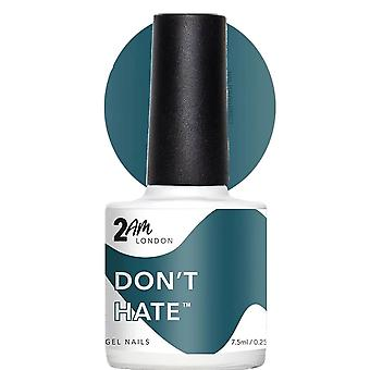 2AM London Positive Vibes 2019 LED/UV Gel Polish Collection - Dont Hate 7.5ml (2W1906)