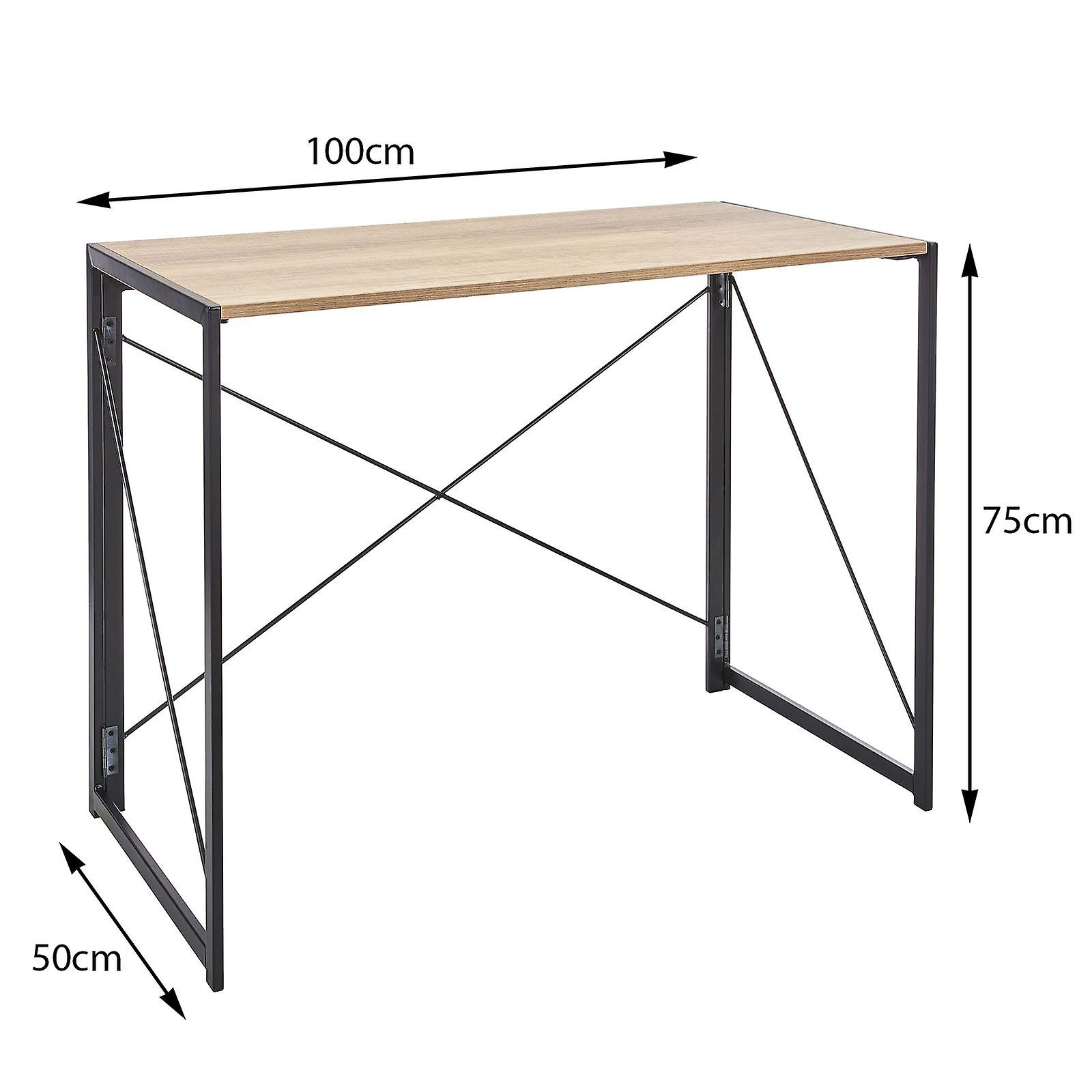 Folding Table In Black Powder Coating
