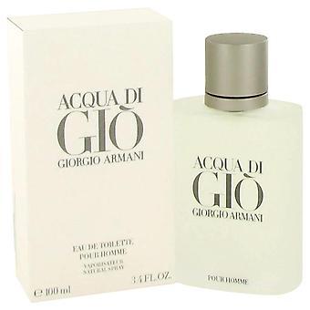 Acqua di gio eau de toilette spray by giorgio armani 416544 100 ml