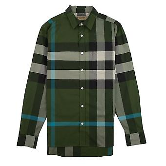 Burberry Windsor pitkähihainen paita vihreä
