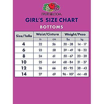 Fruit of the Loom Girls' Big Cotton Bikini Underwear, 10, MultiColor, Size 8